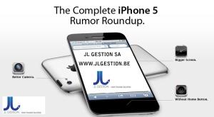 Iphone 5 - JL GESTION sa