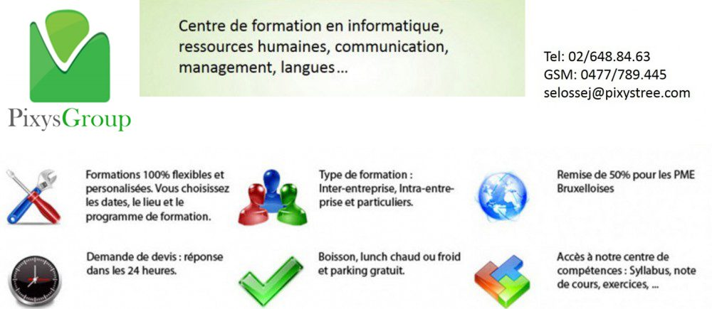 ALL TRAINING – Formations informatiques pour professionnels